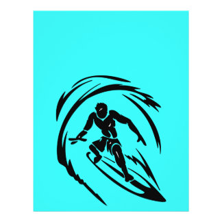 extreme_sport_003 SURFING DUDE TATTOO TRIBAL Flyer
