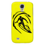 extreme_sport_003 SURFING DUDE TOO TRIBAL Galaxy S4 Cover