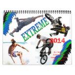 Extreme Sports 2014 Calendar, BY Karen J Williams Calendar