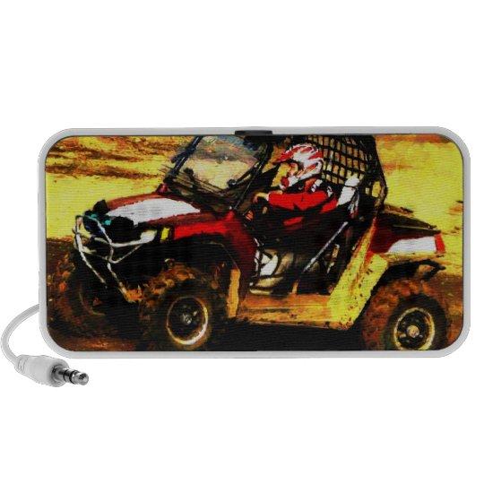 Extreme Sports ATV Mudding Portable Speaker