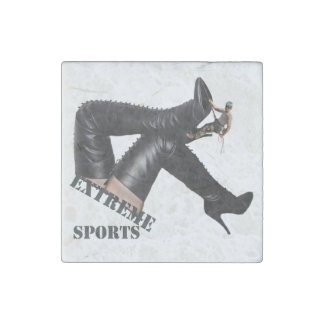 Extreme Sports - BOOT Climbing Stone Magnet