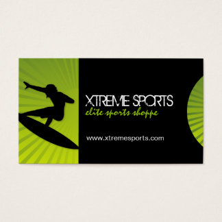 Extreme Sports Business Cards
