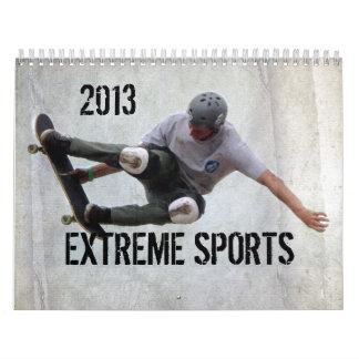 Extreme Sports Calendar,Copyright Karen J Williams Calendar