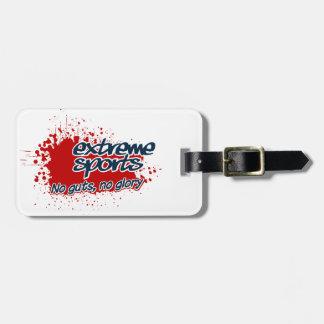 EXTREME SPORTS custom luggage tag