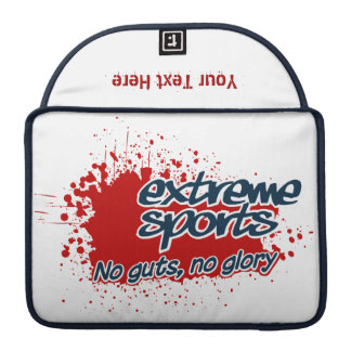 EXTREME SPORTS custom MacBook sleeve