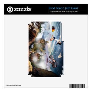 Extreme Sports Decals For iPod Touch 4G