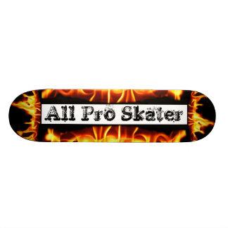 Extreme Sports Flames Skateboard
