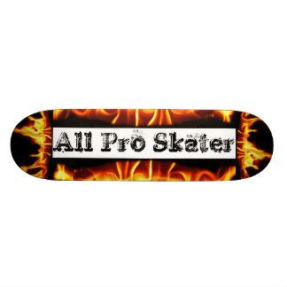 Extreme Sports Flames Skateboard Deck