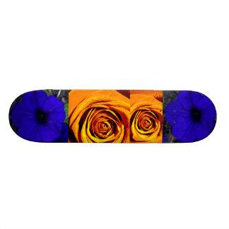 Extreme Sports Floral Skateboard Deck