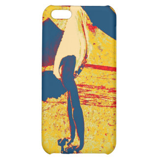Extreme Sports Freestyle Skateboard Trick iPhone 5C Cases