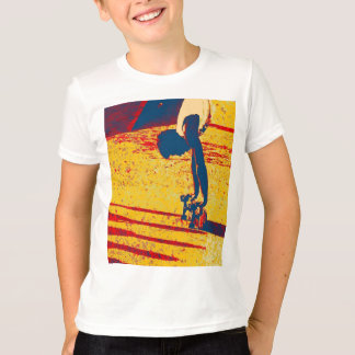 Extreme Sports Freestyle Skateboard Trick T-Shirt