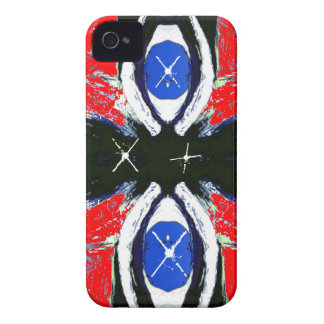 Extreme Sports Red Black & Blue Blackberry Case
