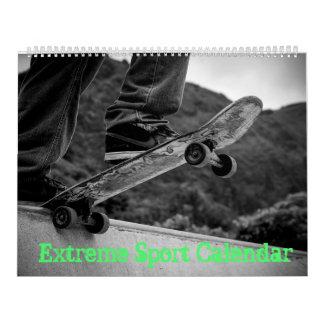Extreme Sports, Skateboard, MotoX, Bike Calendar