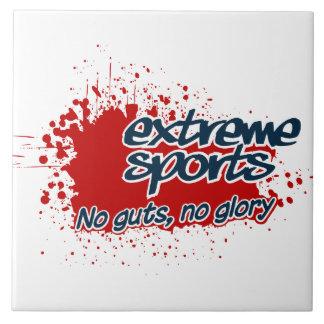 Extreme Sports tile, customizable Ceramic Tile