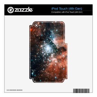 Extreme Star Cluster Skins For iPod Touch 4G