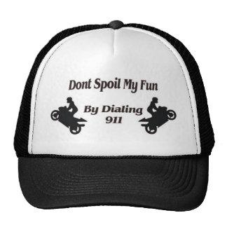 Extreme Stunts Dont Spoil my Fun Mesh Hat