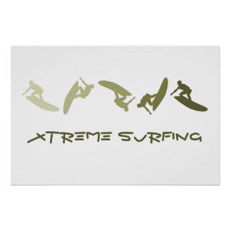 Extreme Surfing Poster