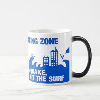 Extreme Tsunami Surfers Magic Mug