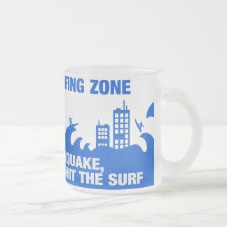 Extreme Tsunami Surfers Mug