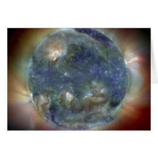 Extreme Ultraviolet Sun NASA Card