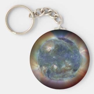 Extreme Ultraviolet Sun NASA Keychain