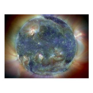Extreme Ultraviolet Sun NASA Postcard