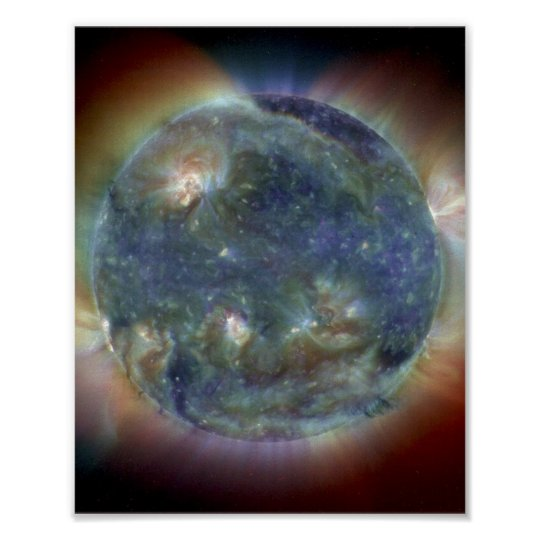 Extreme Ultraviolet Sun Poster