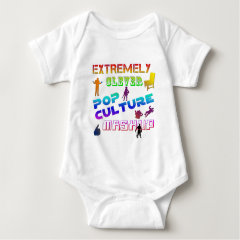 Extremely Clever Pop Culture Mashup Baby Bodysuit