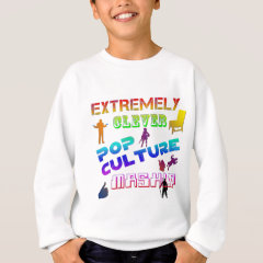 Extremely Clever Pop Culture Mashup Sweatshirt