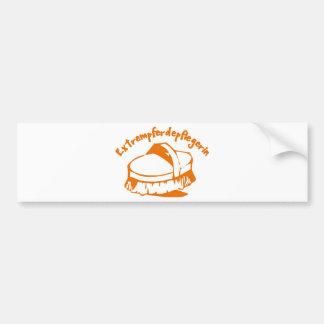 Extremely horse nurse bumper sticker