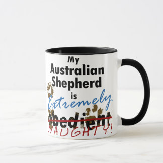 Extremely Naughty Australian Shepherd Mug