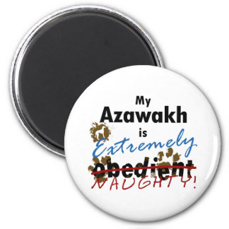 Extremely Naughty Azawakh Magnet