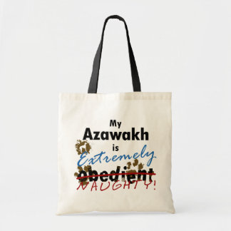 Extremely Naughty Azawakh Tote Bags