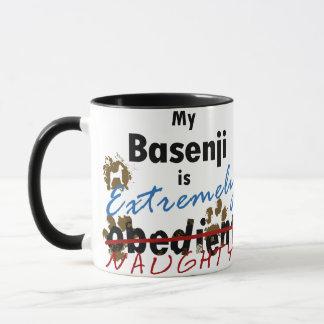 Extremely Naughty Basenji Mug