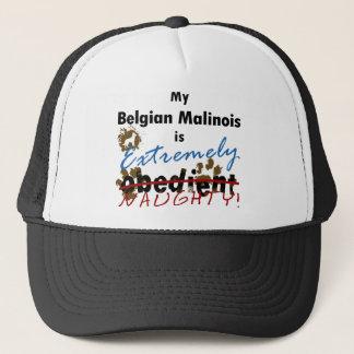 Extremely Naughty Belgian Malinois Trucker Hat