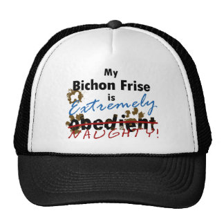 Extremely Naughty Bichon Frise Trucker Hat