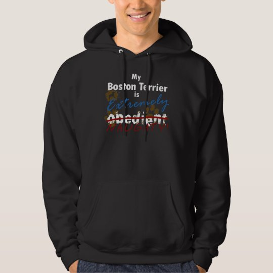 Extremely Naughty Boston Terrier Hoodie