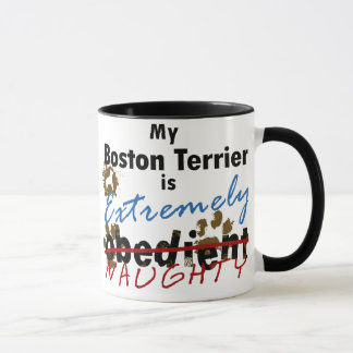 Extremely Naughty Boston Terrier Mug