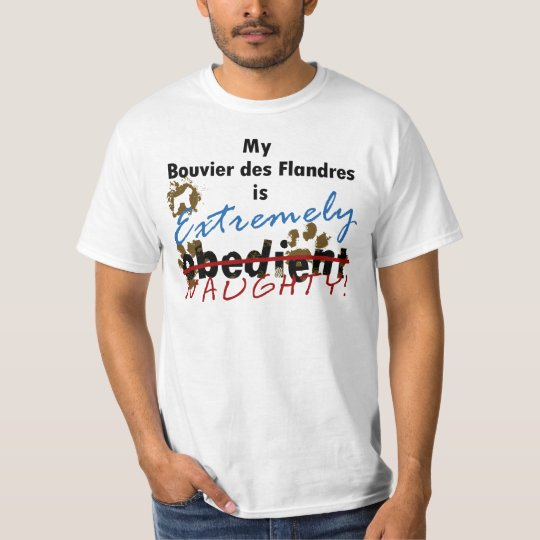 Extremely Naughty Bouvier des Flandres T-Shirt