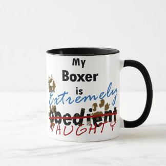 Extremely Naughty Boxer Mug
