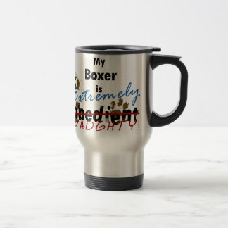Extremely Naughty Boxer Travel Mug