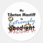 Extremely Naughty Tibetan Mastiff Sticker