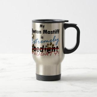 Extremely Naughty Tibetan Mastiff Travel Mug