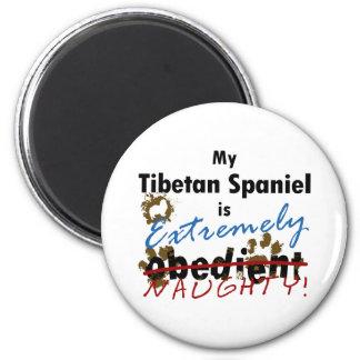 Extremely Naughty Tibetan Spaniel Magnet