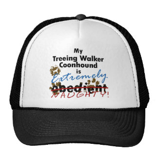 Extremely Naughty Treeing Walker Coonhound Hat