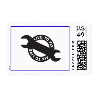 EXTREMELY REAL STAMP™ POSTAGE STAMP