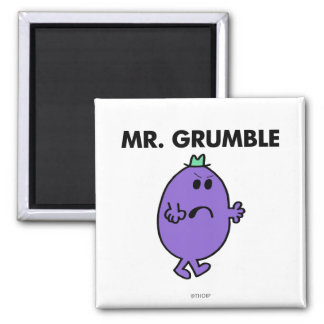 Extremely Unhappy Mr. Grumble Magnet
