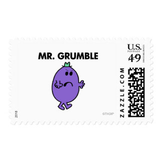 Extremely Unhappy Mr. Grumble Postage