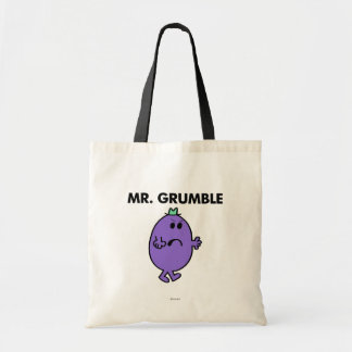 Extremely Unhappy Mr. Grumble Tote Bag