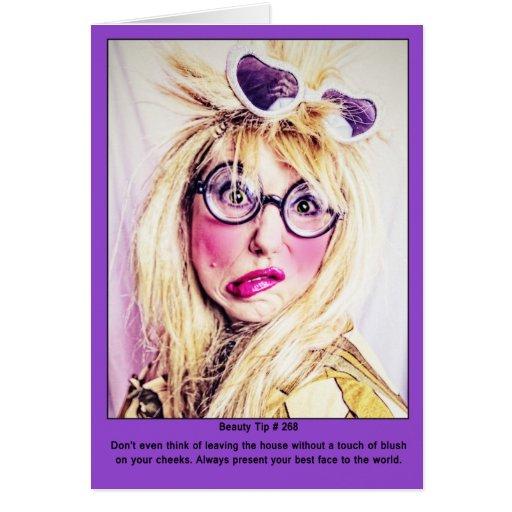 Extremidad de la belleza # 268 tarjeta de felicitación